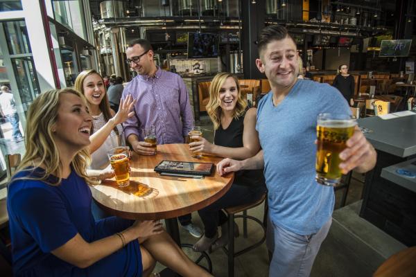 Beers at RAM