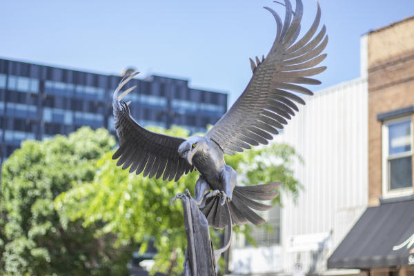 Eagle Sculpture in Sculpture Tour in Downtown