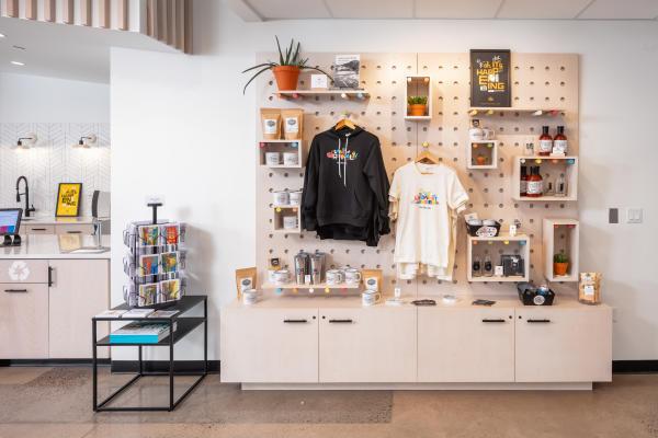 Visit Eau Claire Experience Center retail store