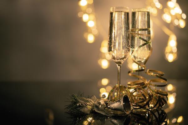 Festive Sparkling Wine