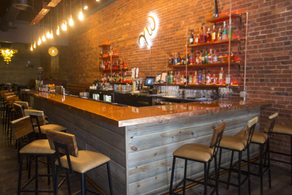 The Bar at Nawa on the Landing in Fort Wayne, Indiana