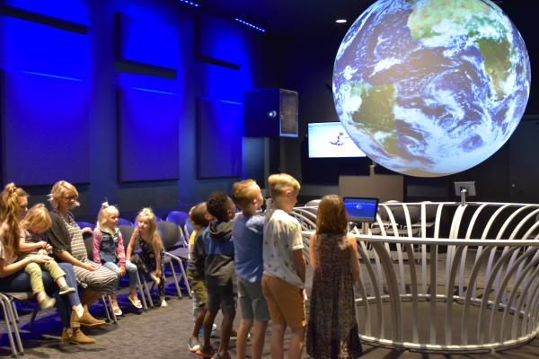 Science Central's Science on a Sphere Exhibit - Fort Wayne, Indiana