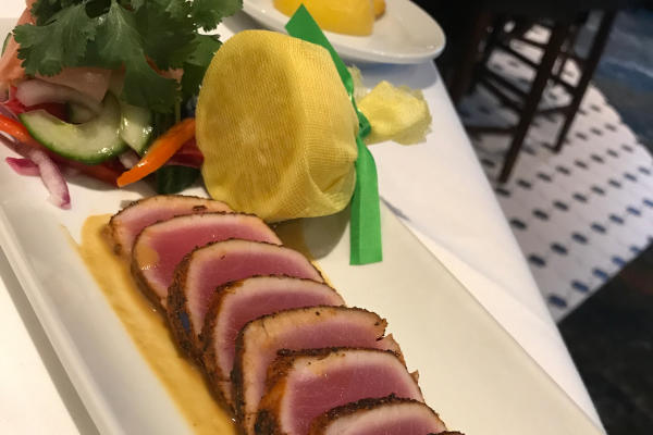 Copy of Seared Ahi Tuna at Ruth's Chris