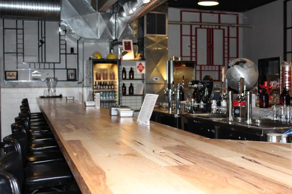 Bar at Smoketown Brewing Station