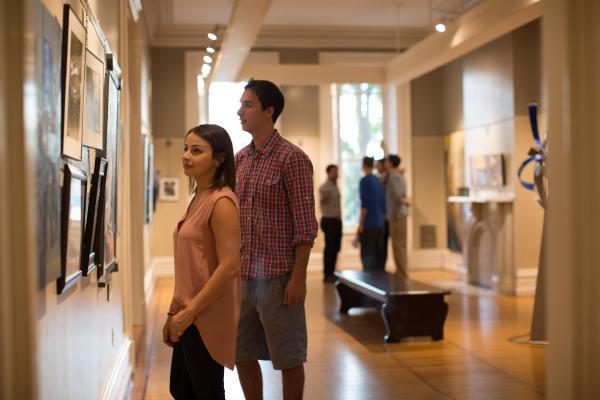 Harrisburg Art Association - Couple in Gallery