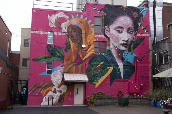 Harrisburg murals