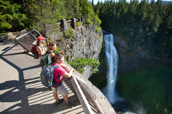 Salt Creek Falls Viewing Platform by Eugene, Cascades & Coast