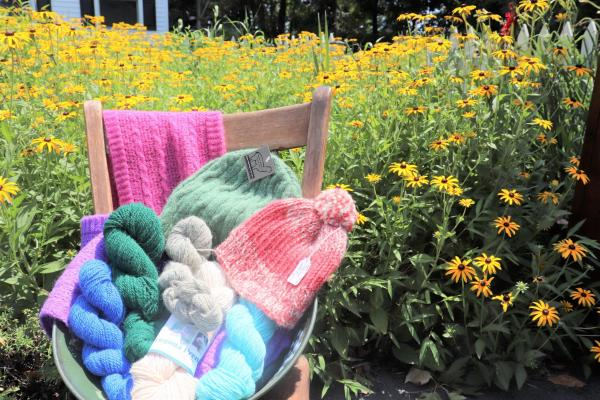 Knitted goods from Butterfly Hill Farm Store