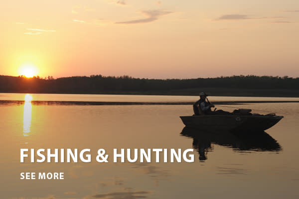 Fishing & Hunting - Button - Home is where the heart is