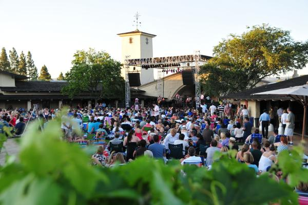 Robert Mondavi Summer Concerts in Napa Valley