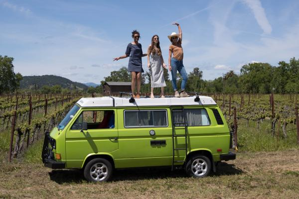 Visiting Napa Valley by Van