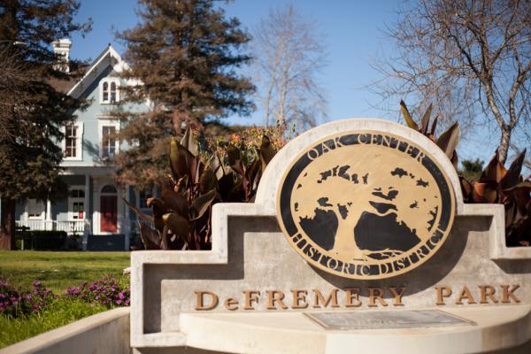 DeFremery Park Sign
