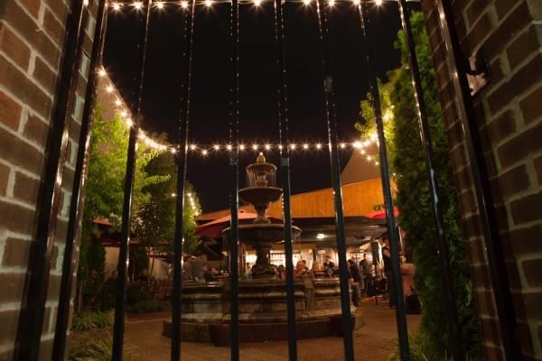 Paducah Axe Courtyard