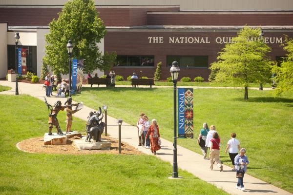 National Quilt Museum Exterior