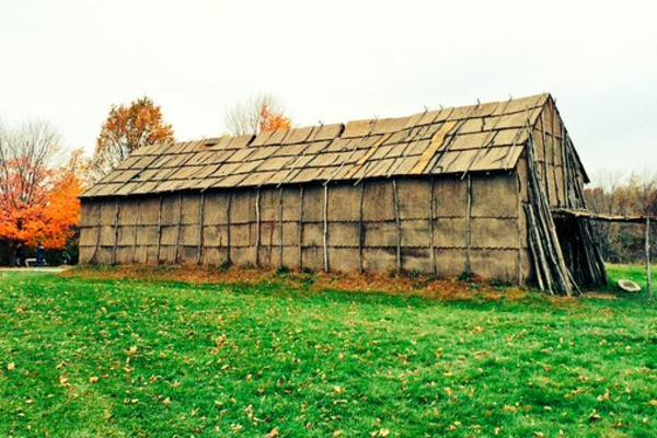 Long House at Ganondagan Historic Site