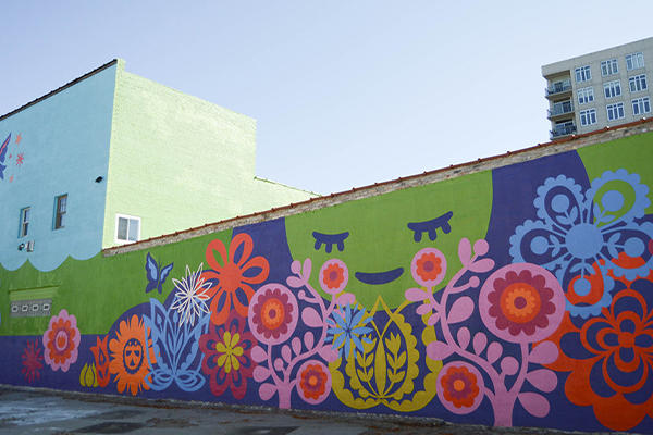 mural by Molly Z
