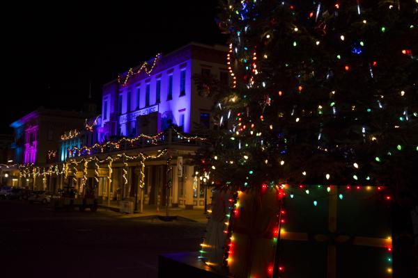 Christmas in Old Sac