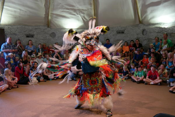 Native American Dance at This is The Place State Park