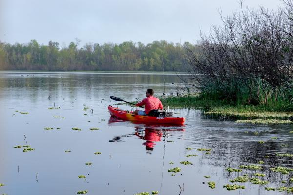 Kayaking in Cullinan Park