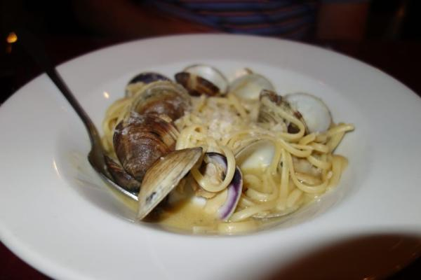 Linguine Vongle at Antonia's Cucina Italiana