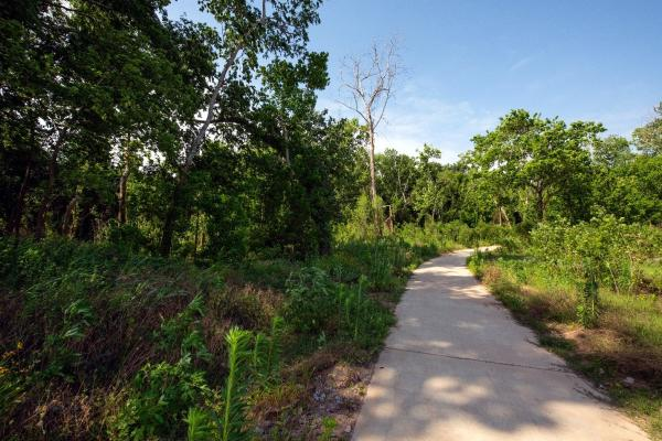 Trail at Brazos River Park