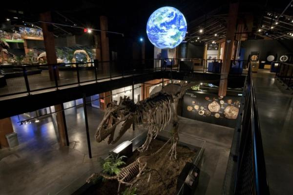 Interior view of HMNS.