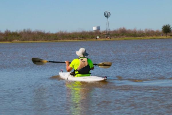 Kayak at Sugar Land Memorial Park
