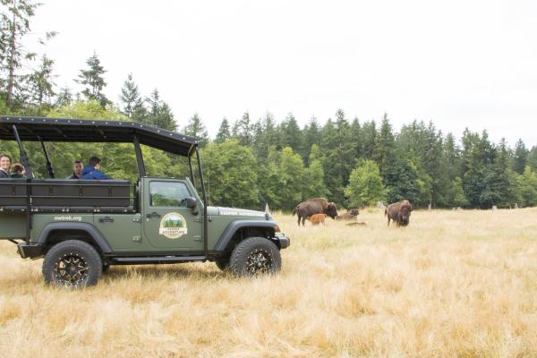 Keeper Adventure tour at Northwest Trek Wildlife Park
