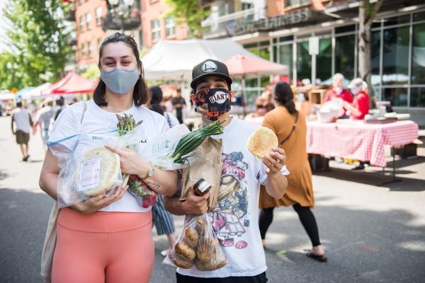 Farmers market masks