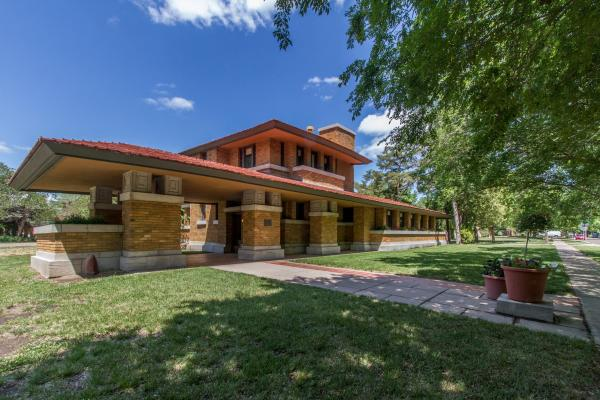 Frank Lloyd Wright's Allen House in Wichita