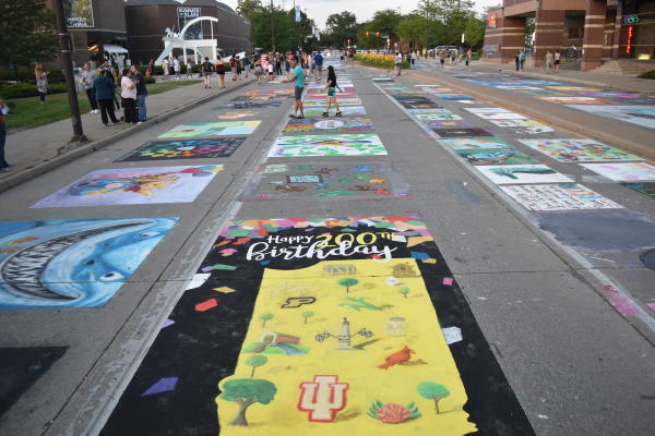 Chalk Walk - Three Rivers Festival 2016 - Fort Wayne, IN