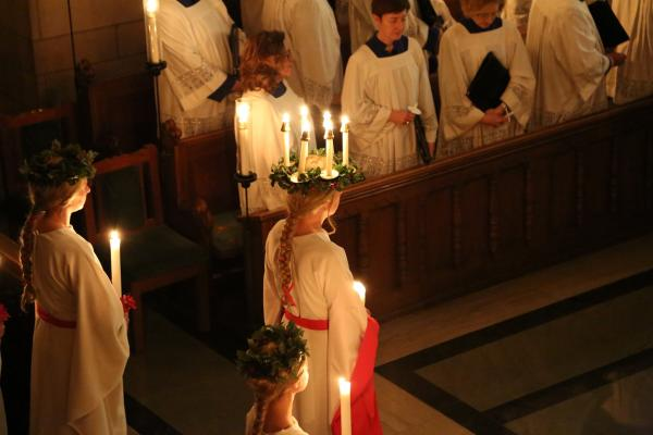 Santa Lucia Service at Trinity English Lutheran
