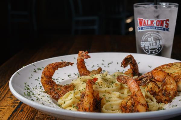 Walk-On's Shrimp Alfredeaux