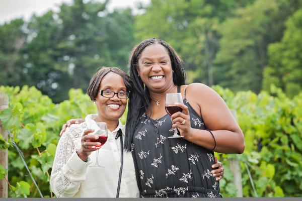 Wine in the Vineyards