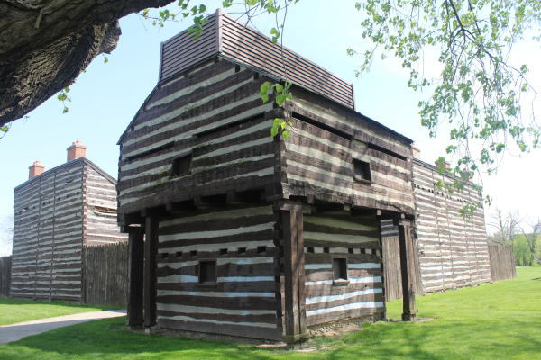 Blockhouse on the Fort