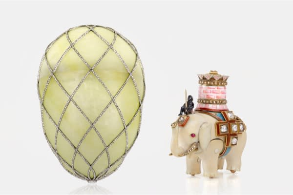 JoyasFaberge–Cortesía de Houston Museum of Natural Science