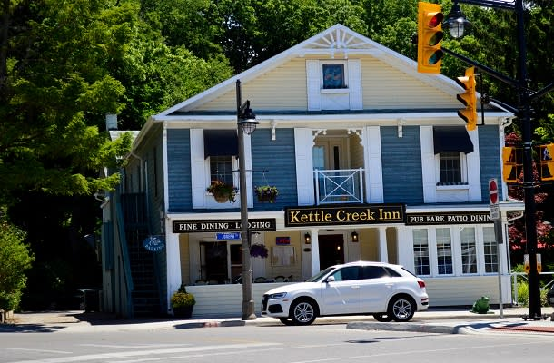Kettle Creek Inn exterior