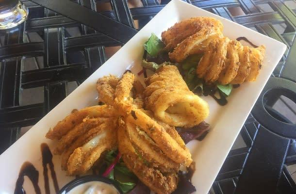 Fresh meal at Bayside
