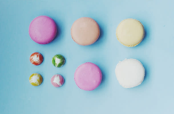 Macroons at SEEDS CONFECTIONERY