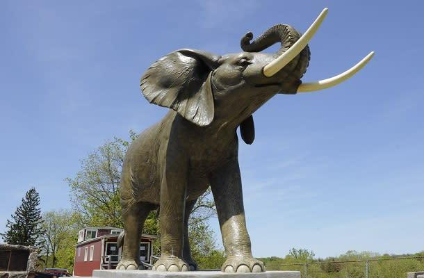 giant elephant statue