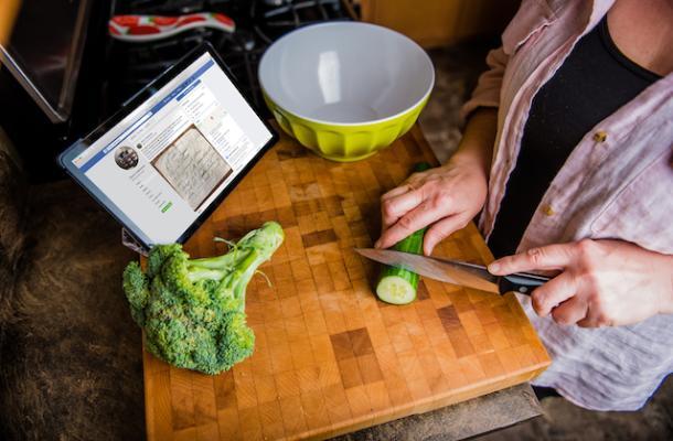 Virtual Blog: Cooking