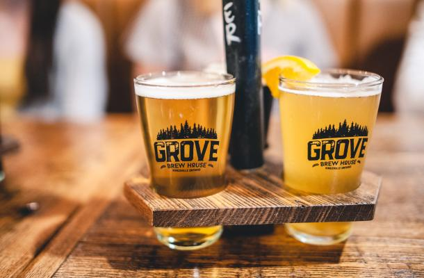 The Grove Craft beer
