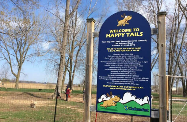 Happy Trails Dog Park