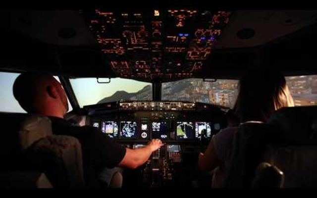 Video of Threshold's 737NG Simulator in Action!