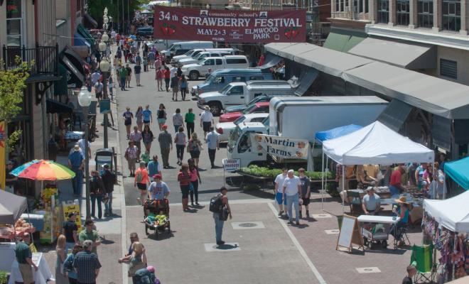 Market Street - Downtown Roanoke, Virginia