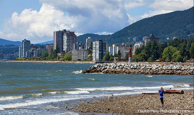 Beaches in Vancouver, BC