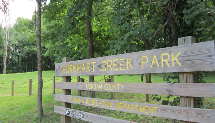 Burkhart Creek - Sign