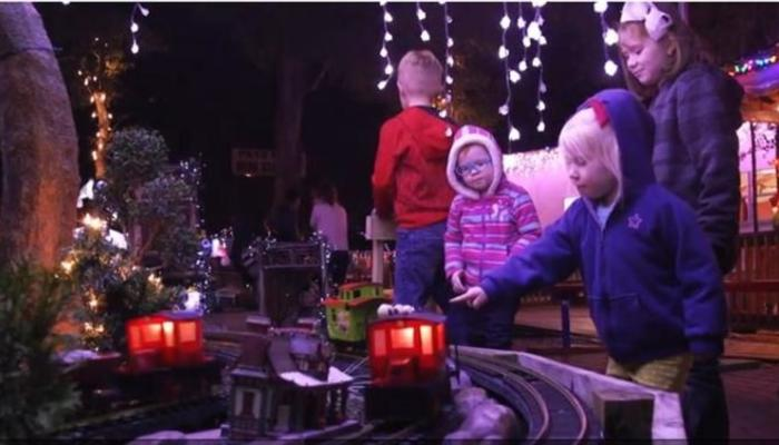 Model Railroad Christmas