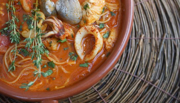 Cha Cha's Latin Kitchen Seafood Caldo