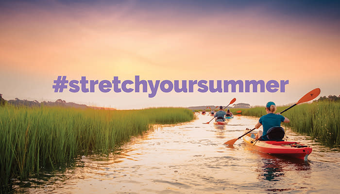 Stretch Your Summer this Fall in Myrtle Beach - #StretchYourSummer